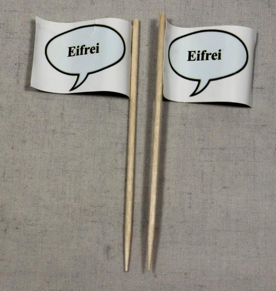 Party-Picker Flagge Eifrei Papierfähnchen in Spitzenqualität 50 Stück Beutel