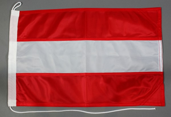 Bootsflagge Österreich 30x45 cm Motorradflagge Bootsfahne