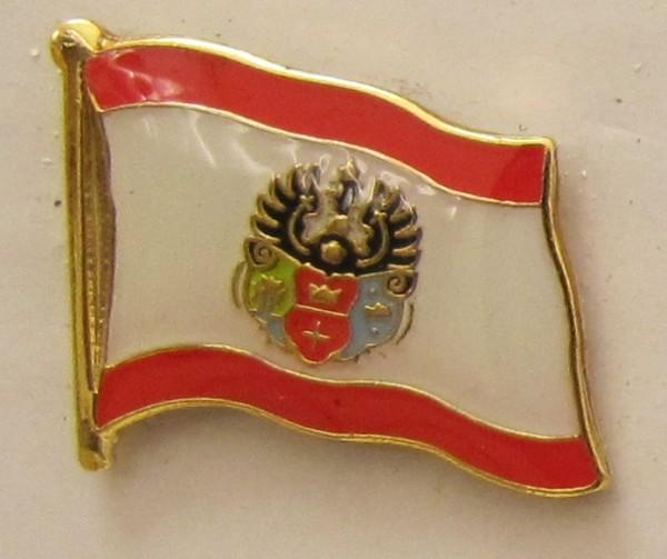 Pin Anstecker Flagge Fahne Königsberg Stadtflagge Kaliningrad Ostpreussen königsberger Stadtflagge