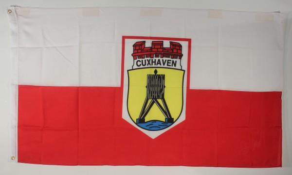 Flagge Fahne Cuxhaven Cuxhafen Cuxhavenflagge