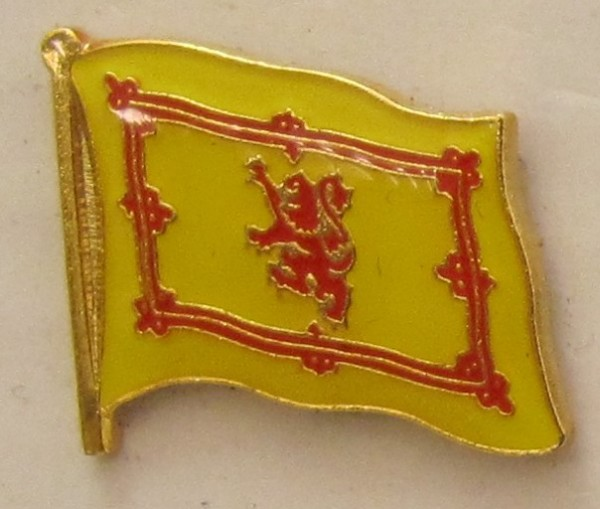 Pin Anstecker Flagge Fahne Schottland Royal Steward