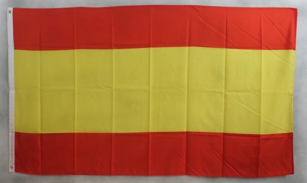 Flagge Fahne Spanien ohne Wappen 90x60 cm