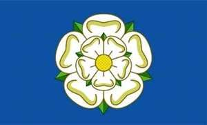 Flagge Fahne : Yorkshire England