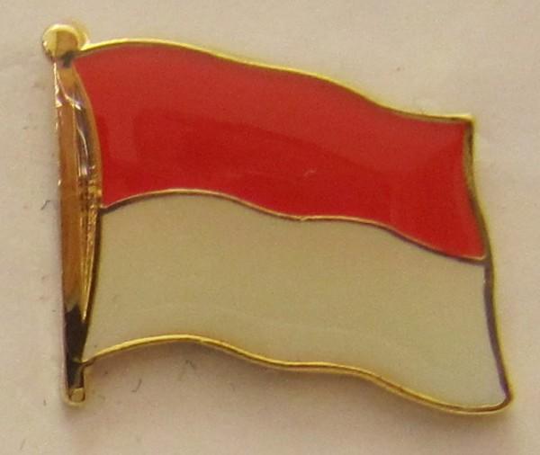 Pin Anstecker Flagge Fahne Monaco / Monte Carlo