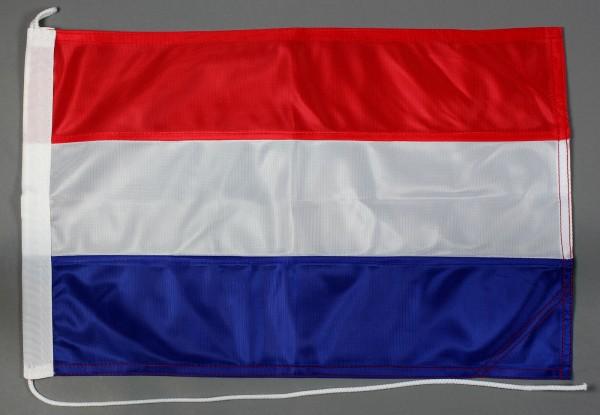 Bootsflagge Niederlande Holland 30x45 cm Motorradflagge Bootsfahne
