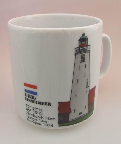Leuchtturm Becher Urk Holland Niederlande