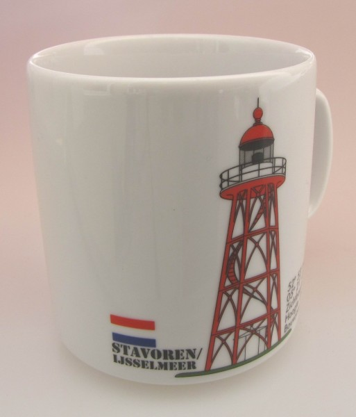 Leuchtturm Becher Stavoren Holland Niederlande