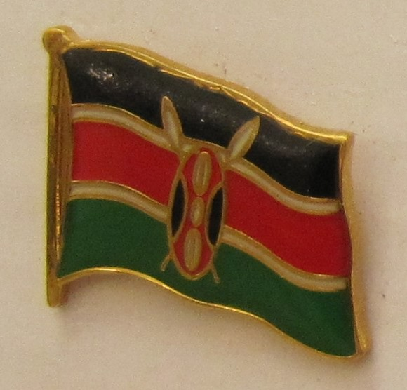 Kenia Pin Anstecker Flagge Fahne Nationalflagge