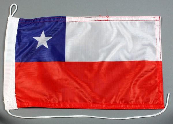 Bootsflagge : Chile 30x20 cm Motorradflagge