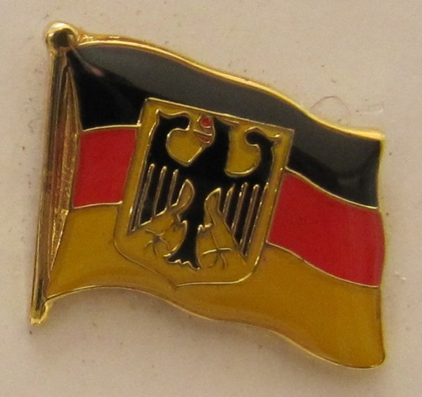 Pin Anstecker Flagge Fahne Deutschland Dienstflagge Staatsflagge Adler Flaggenpin Button Badge Flagg