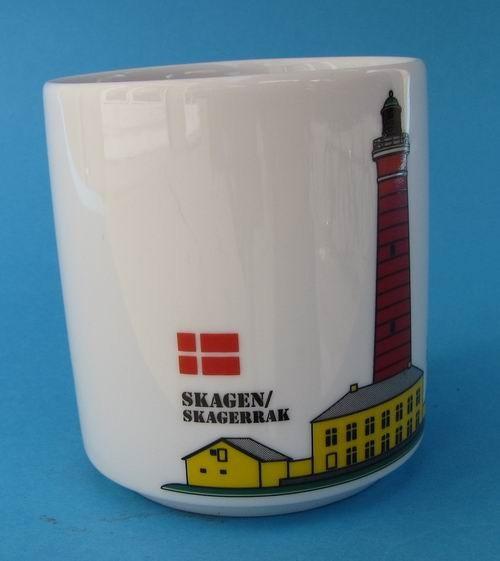 Leuchtturm Becher Skagen Daenemark