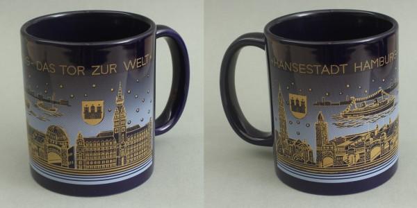 Hamburg - Tor zur Welt Kaffeebecher Souvenir Kaffeetasse Kaffee Becher Andenken