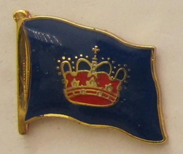 Pin Anstecker Flagge Fahne Fehmarn Inselflagge Flaggenpin Button Badge Flaggen Clip Anstecknadel