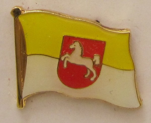 Pin Anstecker Flagge Fahne Hannover Pferd Stadtflagge Flaggenpin Button Badge Flaggen Clip Ansteckna
