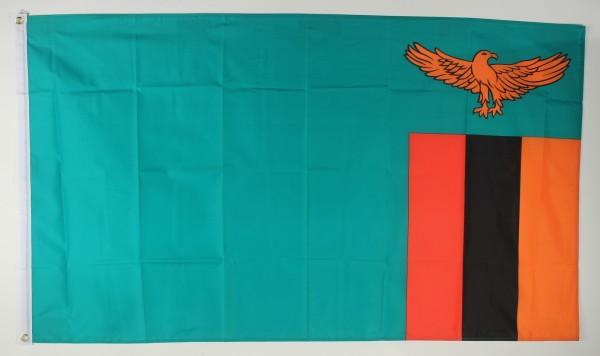 Flagge Fahne : Sambia Sambiafahne Nationalflagge Nationalfahne
