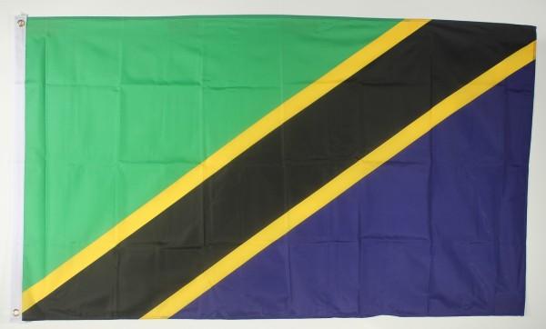 Flagge Fahne : Tansania Tansaniaflagge Nationalflagge Nationalfahne