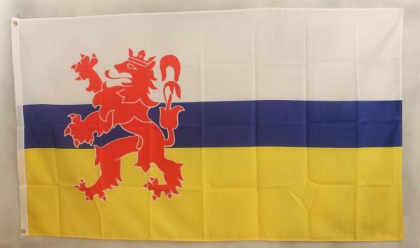 Flagge Fahne : Limburg Belgien Limburgflagge