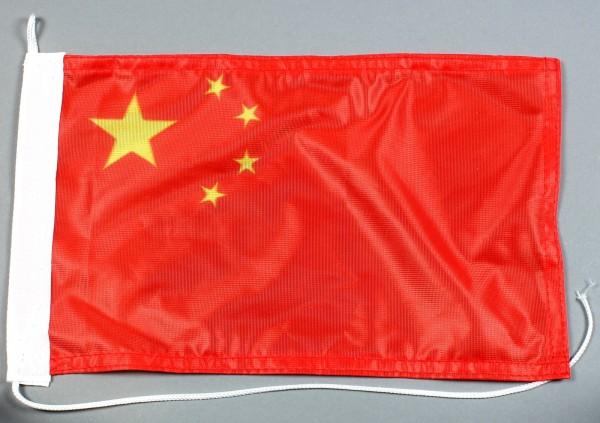 Bootsflagge : China 30x20 cm Motorradflagge