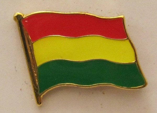 Bolivien Pin Anstecker Flagge Fahne Nationalflagge