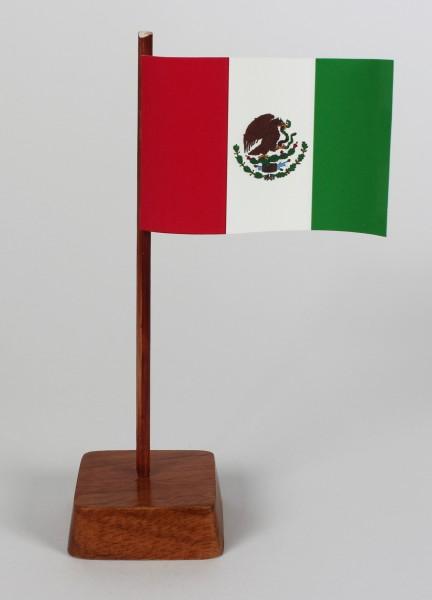 Mini Tischflagge Mexiko Höhe 13 cm Tischfähnchen