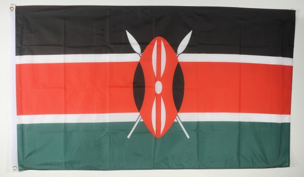 Flagge Fahne : Kenia Keniaflagge Nationalflagge Nationalfahne