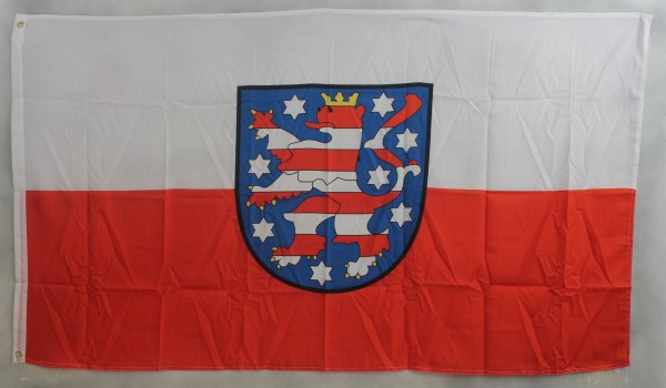 Flagge Fahne Thüringen 90x60 cm