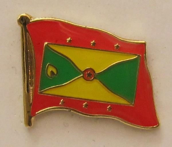 Pin Anstecker Flagge Fahne Grenada Flaggenpin Button Badge Flaggen Clip Anstecknadel