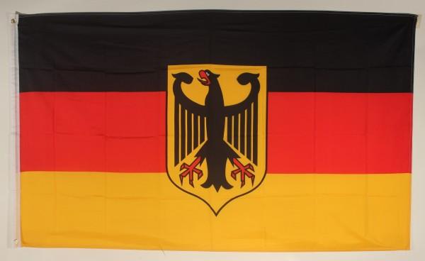Flagge Fahne Deutschland Dienstflagge Adler deutsche Bundesdienstflagge