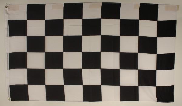 Flagge Fahne : Zielflagge Zielkaro Motorsport
