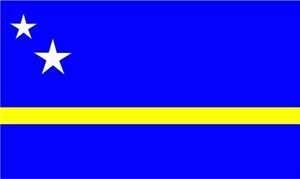 Flagge Fahne : Curacao (Niederländische Antillen) Nationalflagge Nationalfahne