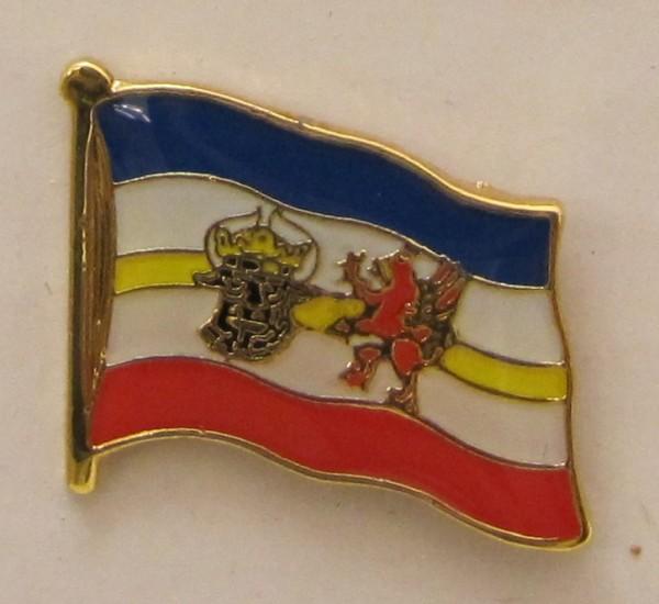 Pin Anstecker Flagge Fahne Mecklenburg Vorpommern