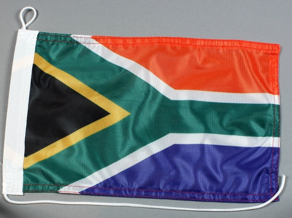 Bootsflagge : Südafrika 30x20 cm Motorradflagge