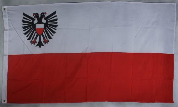 Flagge Fahne Lübeck Stadtflagge Lübeckflagge lübecker