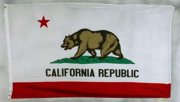 Flagge Fahne : Kalifornien