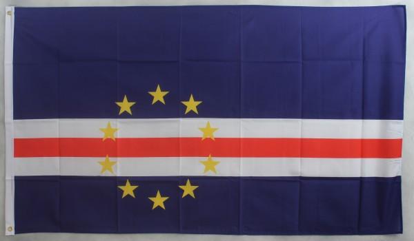 Flagge Fahne : Kap Verde Nationalflagge Nationalfahne