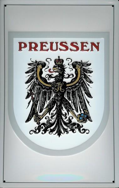 Blechschild Nostalgieschild Preussen Adler Wappen Preußen