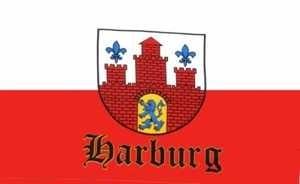 Flagge Fahne Harburg (Bezirk Hamburg)