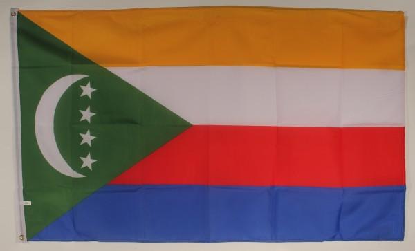 Flagge Fahne : Komoren Komorenflagge Nationalflagge Nationalfahne