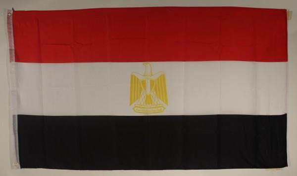 Flagge Fahne : Aegypten Ägypten Ägyptenflagge Nationalflagge Nationalfahne