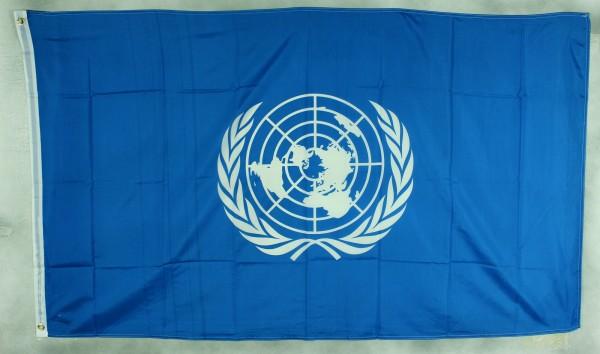 Flagge Fahne UNO Vereinte Nationen 90x60 cm