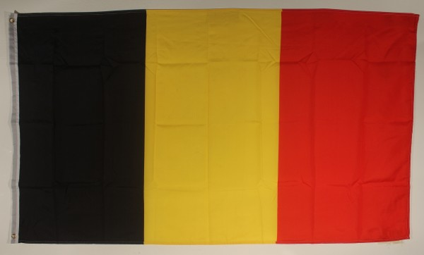 Flagge Fahne : Belgien Nationalflagge Nationalfahne