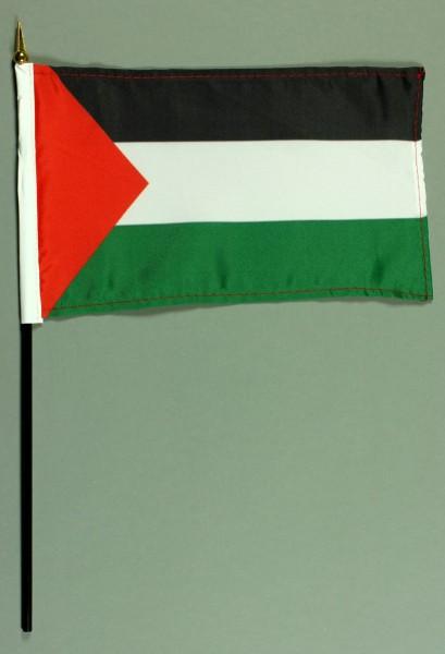 Tischflagge Palästina 15x25 cm BASIC optional mit Tischflaggenständer
