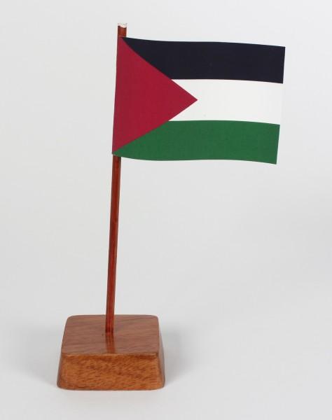 Mini Tischflagge Palästina Höhe 13 cm Tischfähnchen