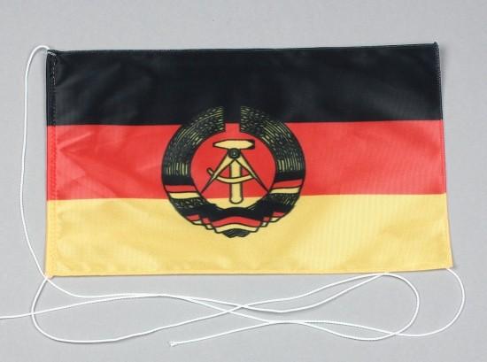 Tischflagge DDR Deutsche Demokratische Republik 25x15 cm optional mit Holz- oder Chromständer Tischf