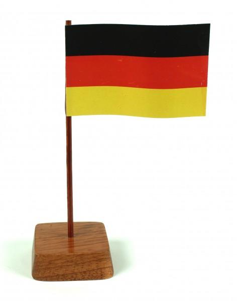 Mini Tischflagge Deutschland Höhe 13 cm Tischfähnchen
