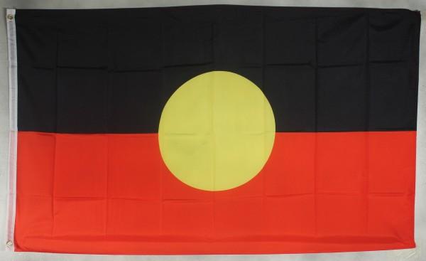 Flagge Fahne : Australien Aborigines