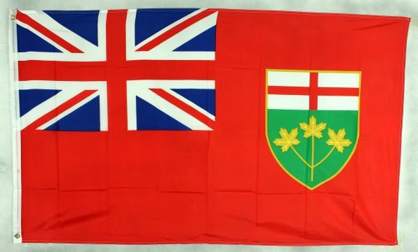 Flagge Fahne : Ontario Kanada