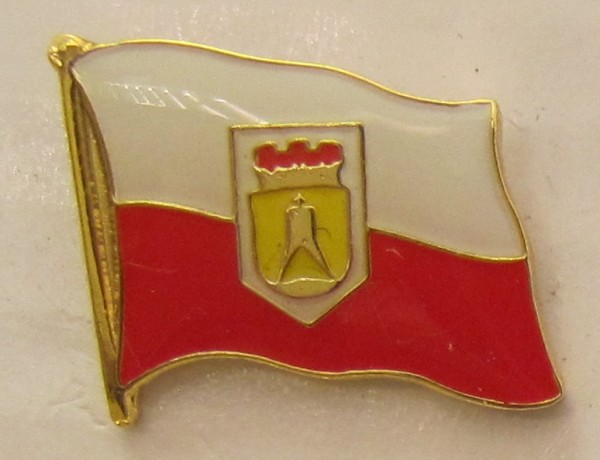 Pin Anstecker Flagge Fahne Cuxhaven Nordsee Stadtflagge Flaggenpin Button Badge Flaggen Clip Ansteck