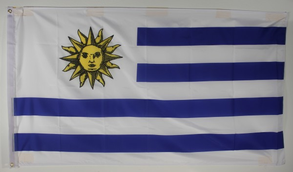 Flagge Fahne : Uruguay Uruguayflagge Nationalflagge Nationalfahne