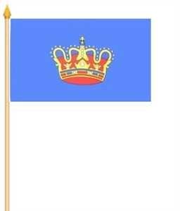 Stockflagge Fehmarn 30x45cm